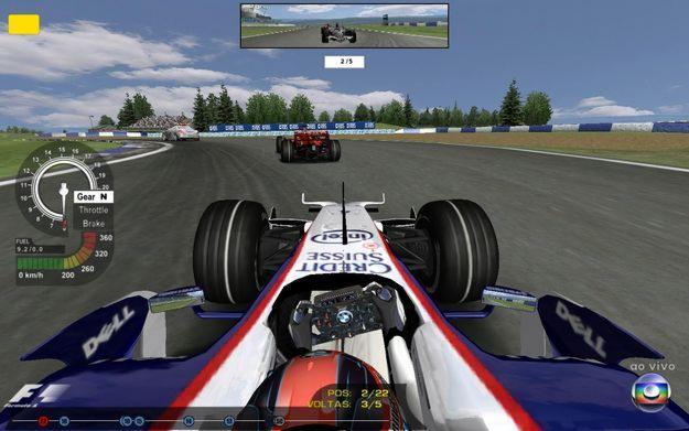 Jogo de formula 1 online